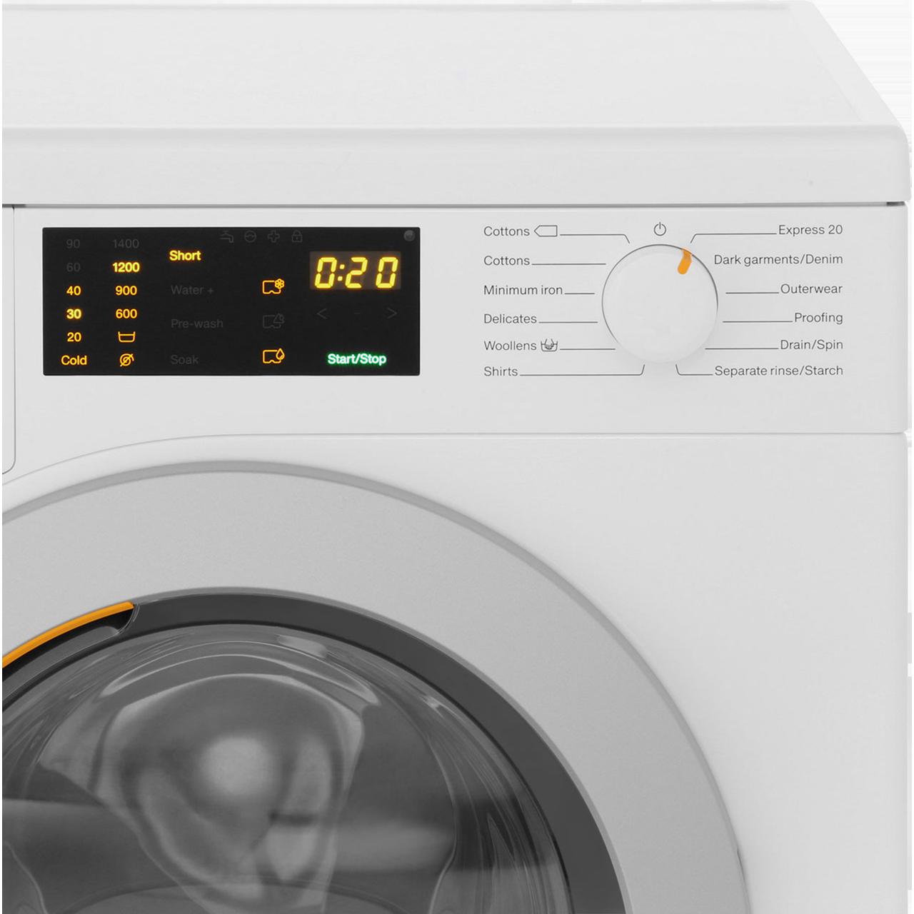 Miele W1 Wdb004 7kg Washing Machine With 1400 Rpm White